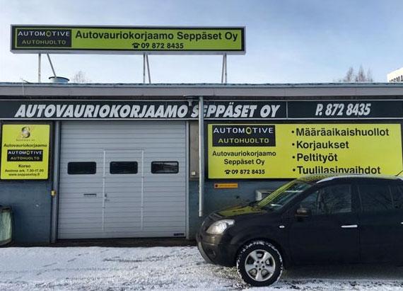 Autovauriokorjaamo Seppäset